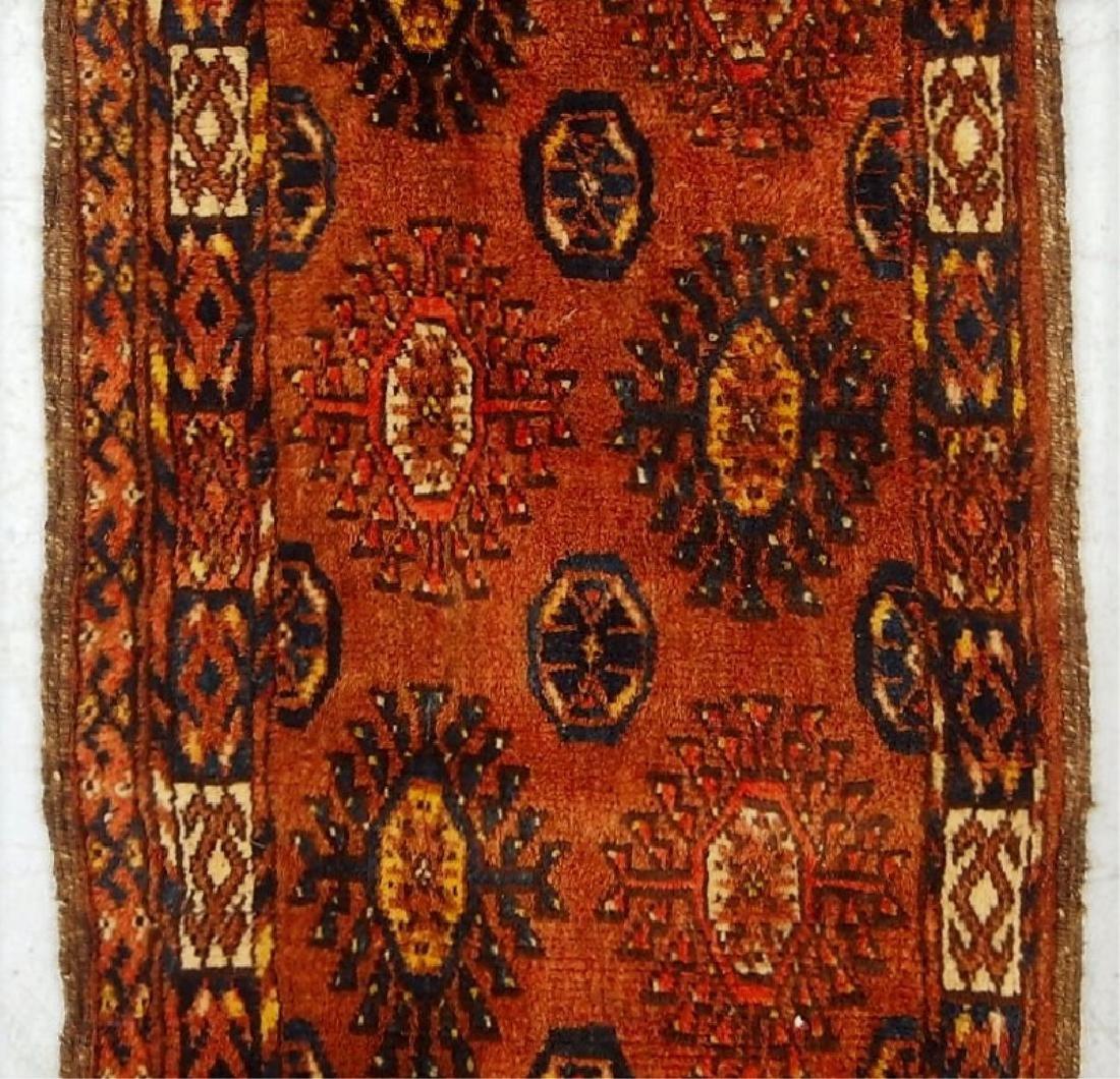 Antique Oriental Persian Esari Torba Wool Rug - 3