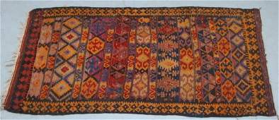 Middle Eastern Geometric Design Tribal Carpet Rug