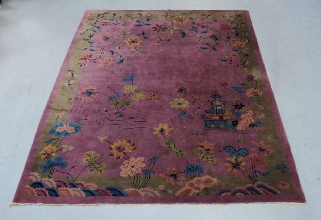 LG C.1930 Chinese Pictorial Rug