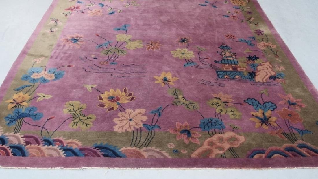 LG C.1930 Chinese Pictorial Rug - 2