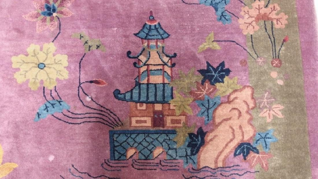 LG C.1930 Chinese Pictorial Rug - 4