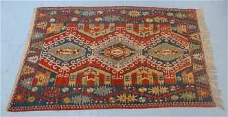 Antique Oriental Persian Kilim Rug