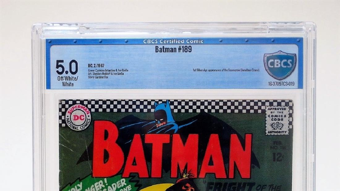 D.C Comics Batman No.189 CBCS 5.0 - 3