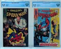 2 Marvel Comics Amazing Spider-Man No. 51 59 CBCS