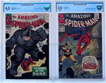 2 Marvel Comics Amazing Spider-Man No. 41 46 CBCS