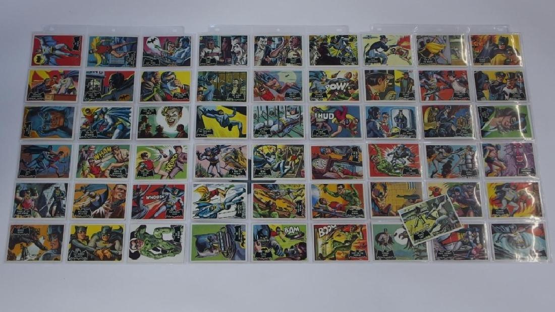 1966 Topps Batman Black Bat Complete Card Set