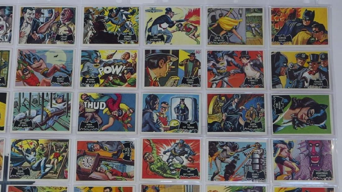 1966 Topps Batman Black Bat Complete Card Set - 3