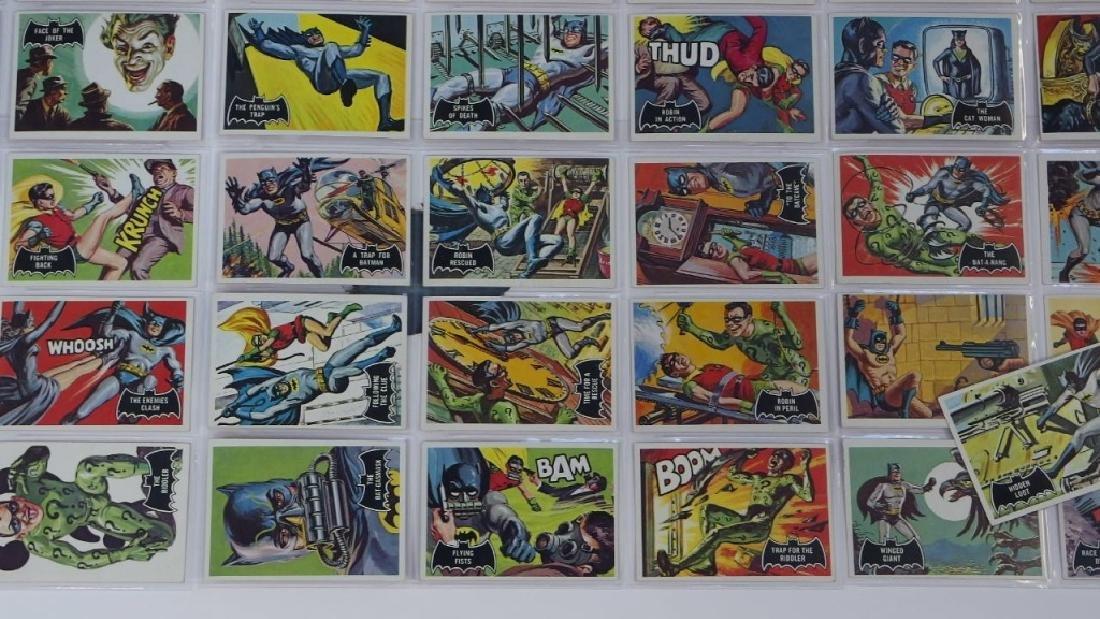 1966 Topps Batman Black Bat Complete Card Set - 4
