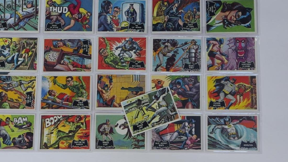 1966 Topps Batman Black Bat Complete Card Set - 5