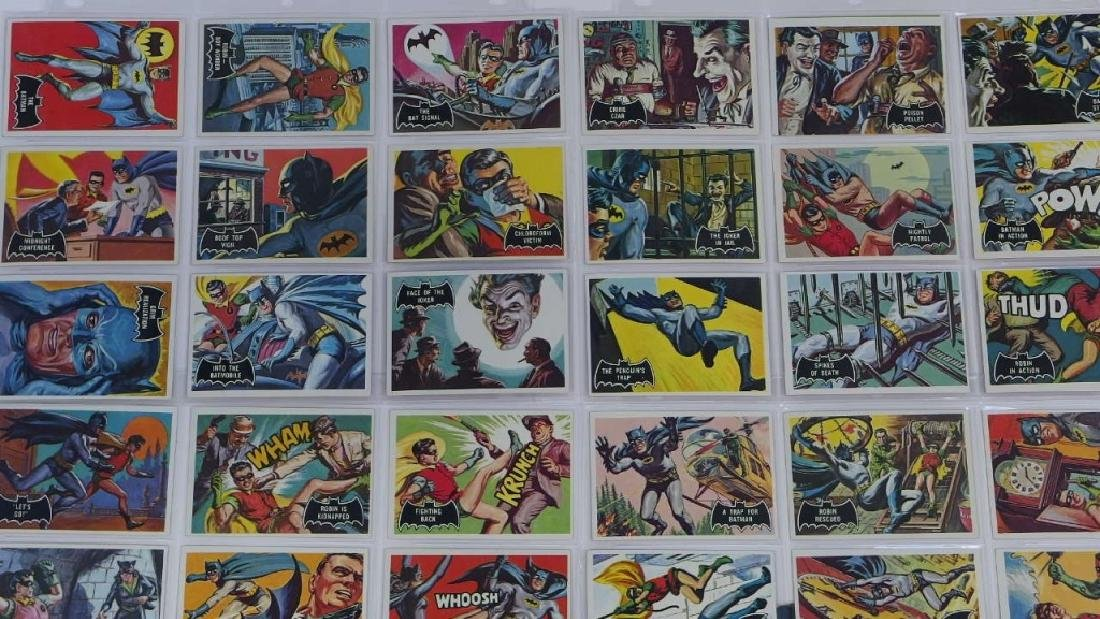 1966 Topps Batman Black Bat Complete Card Set - 2