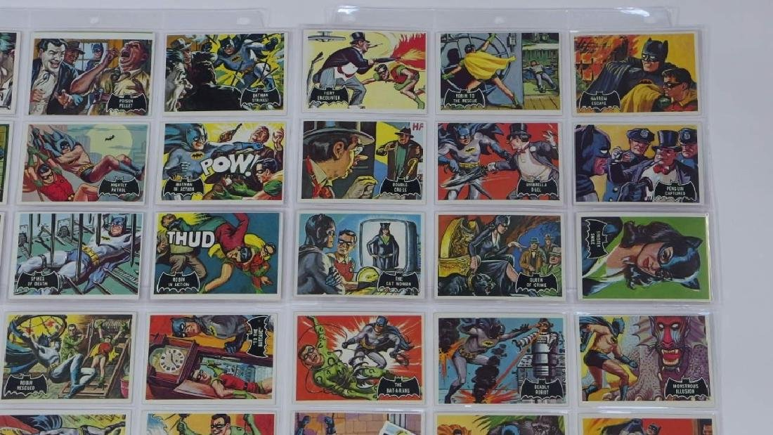 1966 Topps Batman Black Bat Complete Card Set - 3