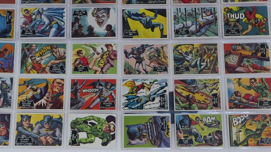 1966 Topps Batman Black Bat Complete Card Set - 4