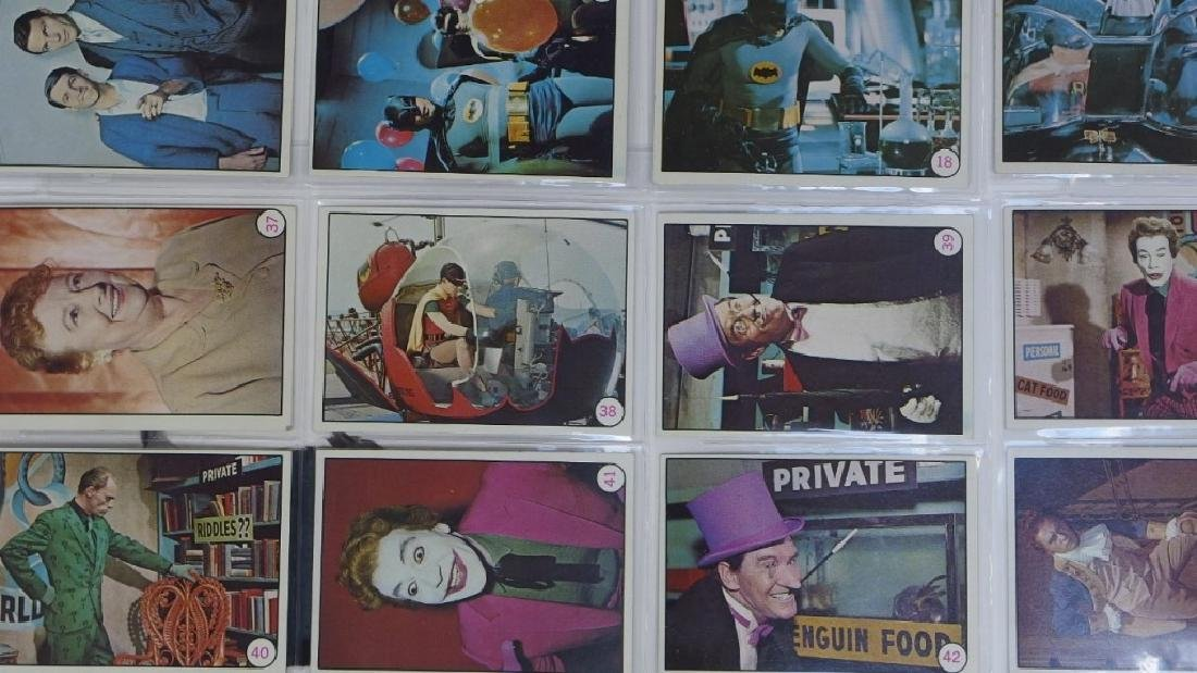 1966 Topps Batman Bat Laffs Trading Card Set - 6