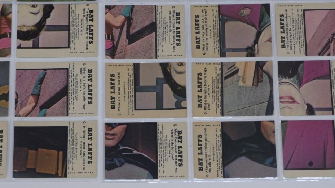 1966 Topps Batman Bat Laffs Trading Card Set - 9
