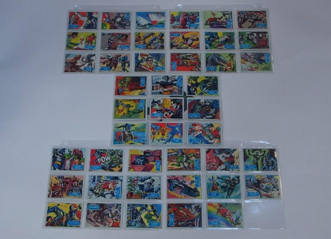 1966 Topps Batman B Blue Bat Trading Card Set