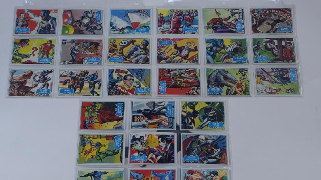 1966 Topps Batman B Blue Bat Trading Card Set - 2