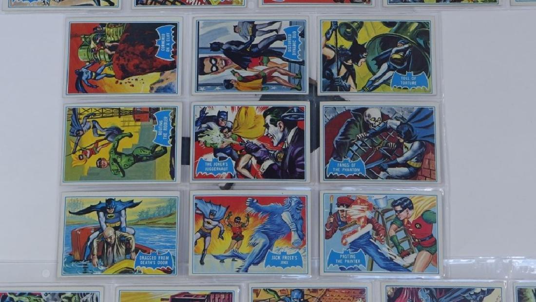 1966 Topps Batman B Blue Bat Trading Card Set - 3