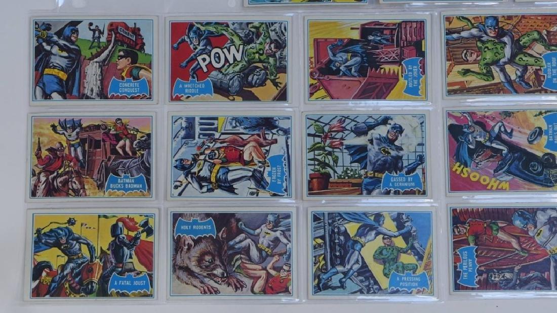 1966 Topps Batman B Blue Bat Trading Card Set - 4