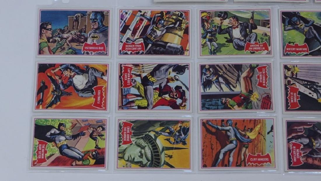 1966 Tops Batman A Red Bat Trading Card Set. - 5