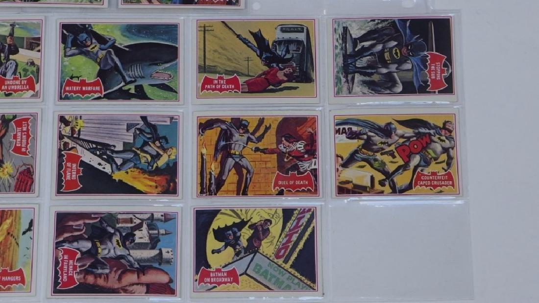 1966 Tops Batman A Red Bat Trading Card Set. - 6