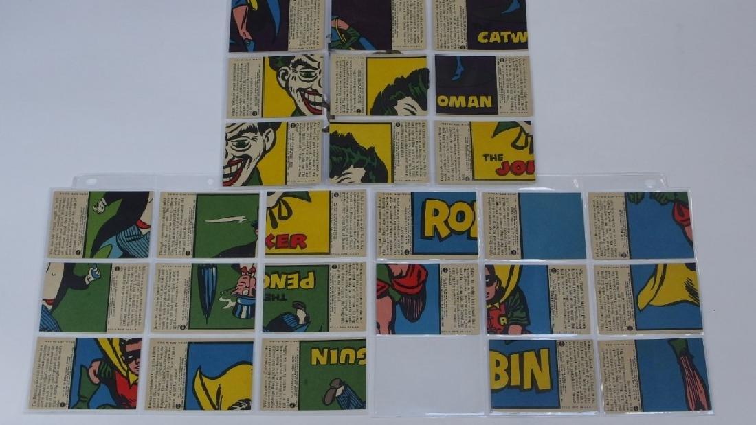 1966 Tops Batman A Red Bat Trading Card Set. - 9