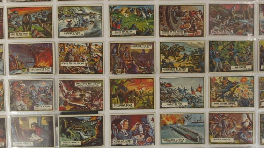 1962 Topps Civil War News Trading Card Set - 3