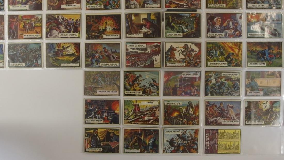 1962 Topps Civil War News Trading Card Set - 4