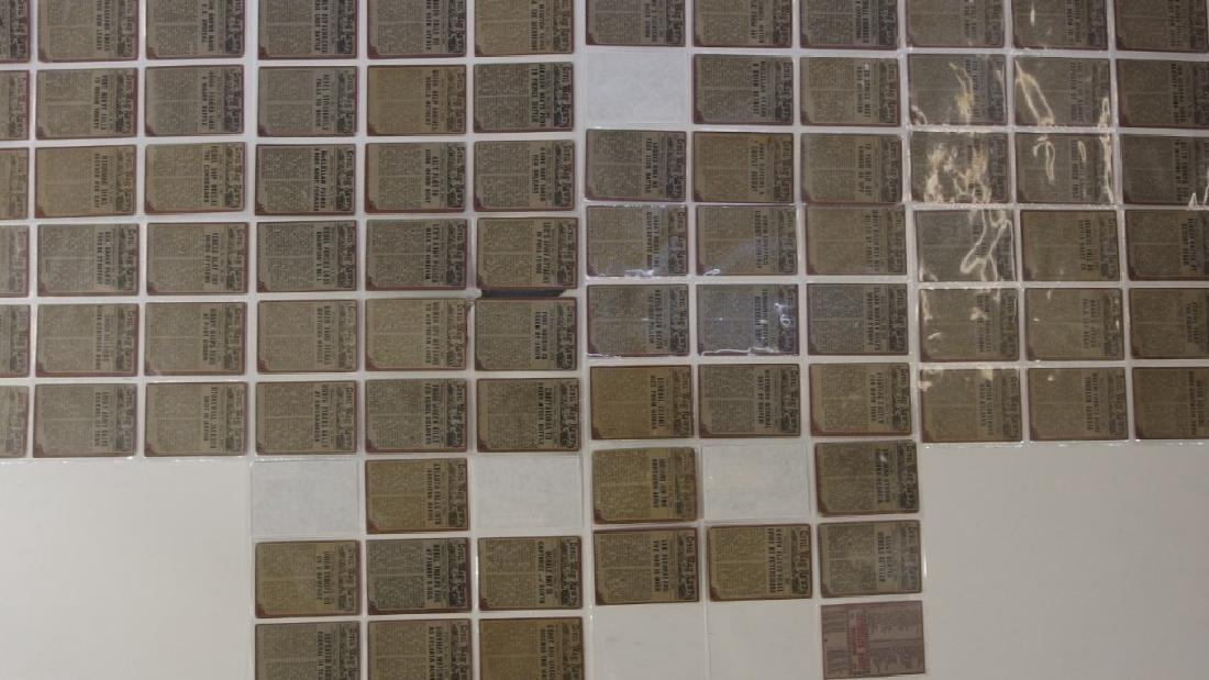1962 Topps Civil War News Trading Card Set - 6