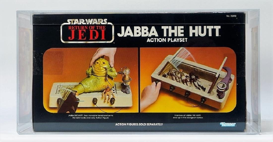 1983 Kenner Star Wars ROTJ Jabba the Hutt AFA 80+ - 2