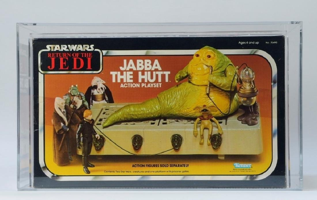 1983 Kenner Star Wars ROTJ Jabba the Hutt AFA 80+ - 3