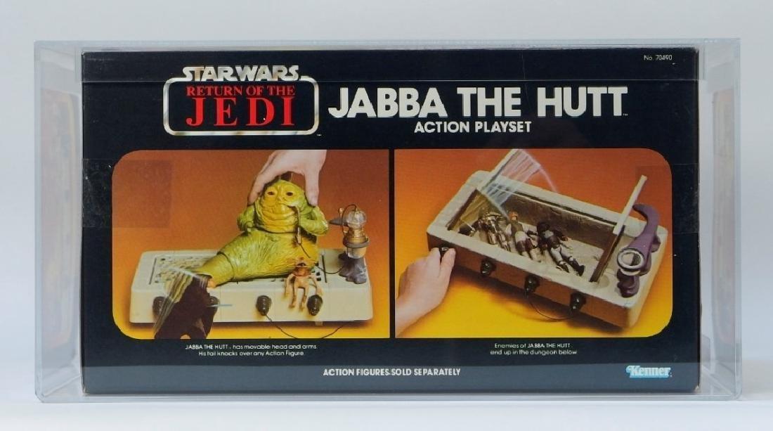 1983 Kenner Star Wars ROTJ Jabba the Hutt AFA 80+ - 4