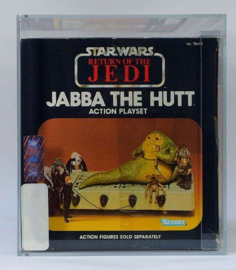 1983 Kenner Star Wars ROTJ Jabba the Hutt AFA 80+ - 5