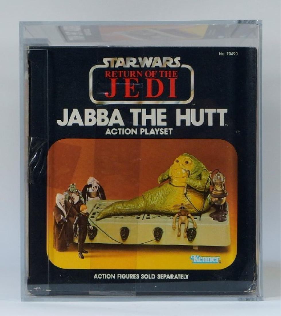 1983 Kenner Star Wars ROTJ Jabba the Hutt AFA 80+ - 6