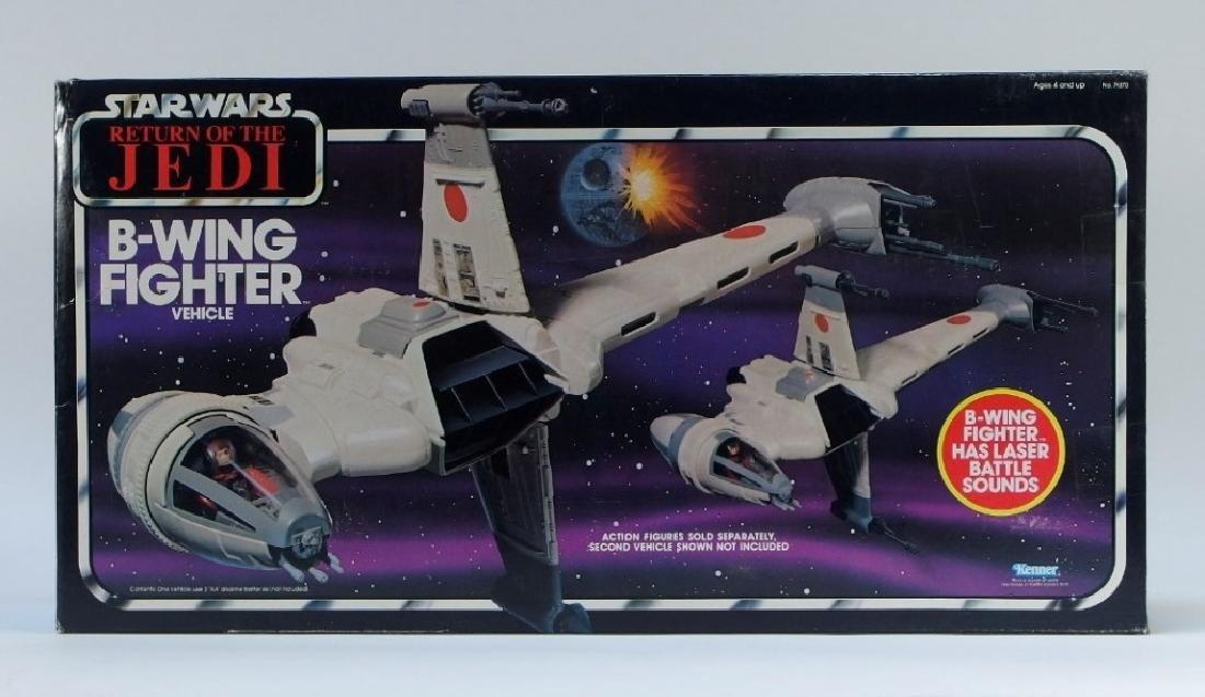 1983 Star Wars ROTJ B-Wing Fighter Vehicle MISB