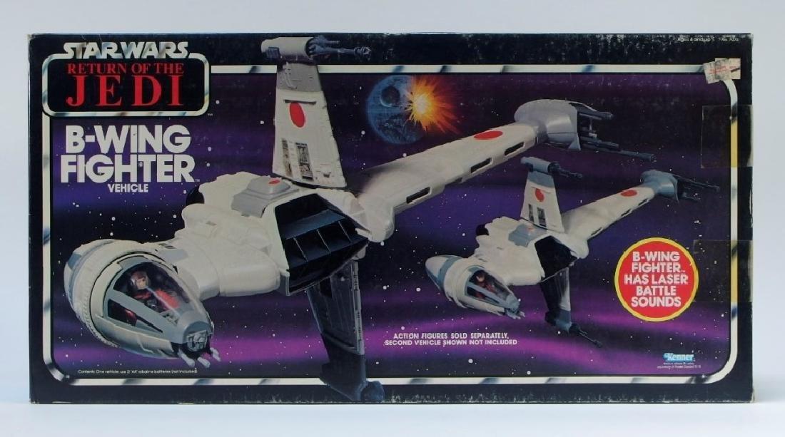1983 Star Wars ROTJ B-Wing Fighter Vehicle MISB - 3