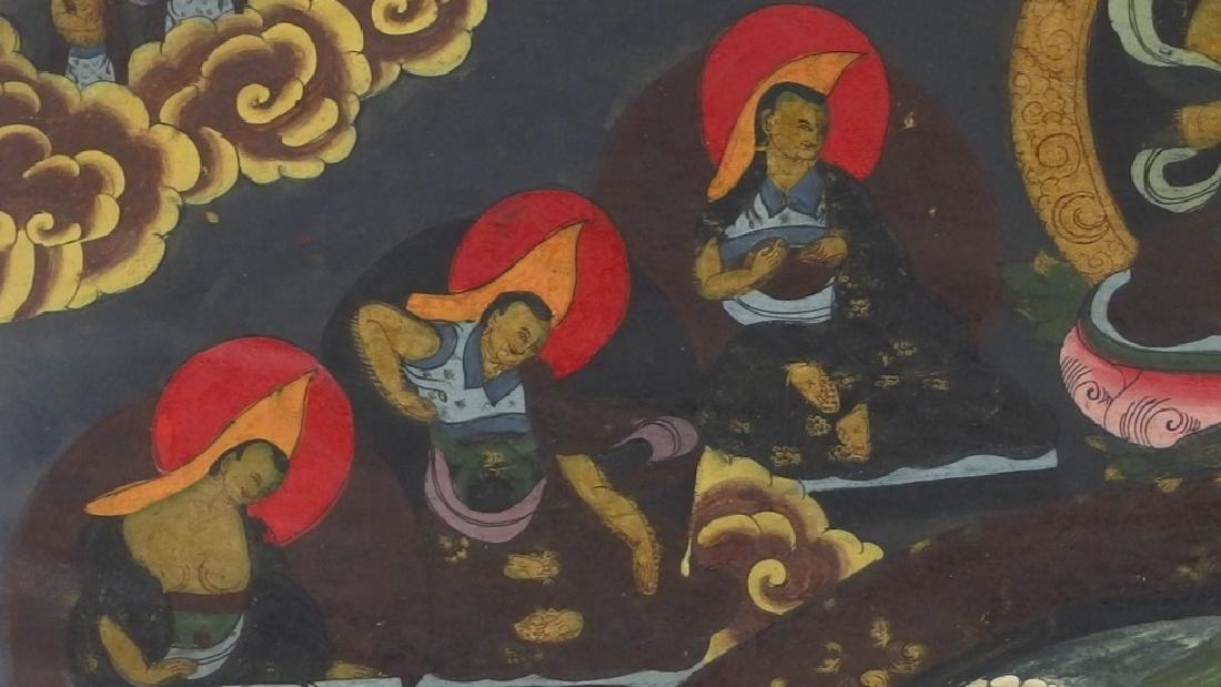 C.1930 Tibetan Tsong-tang Thangka - 6