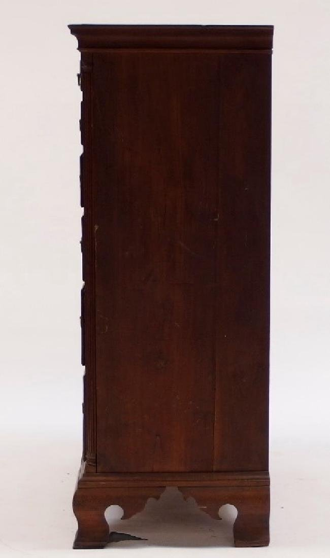 18C. Chippendale Mahogany Tall Chest of Drawers - 2