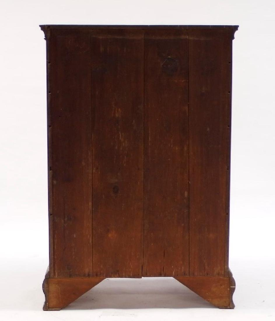 18C. Chippendale Mahogany Tall Chest of Drawers - 3