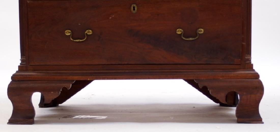18C. Chippendale Mahogany Tall Chest of Drawers - 6