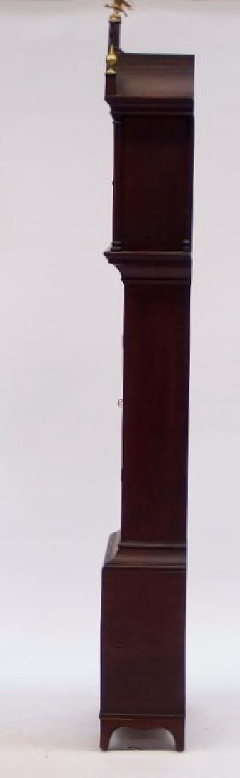 New England Mahogany Tall Case Clock - 6
