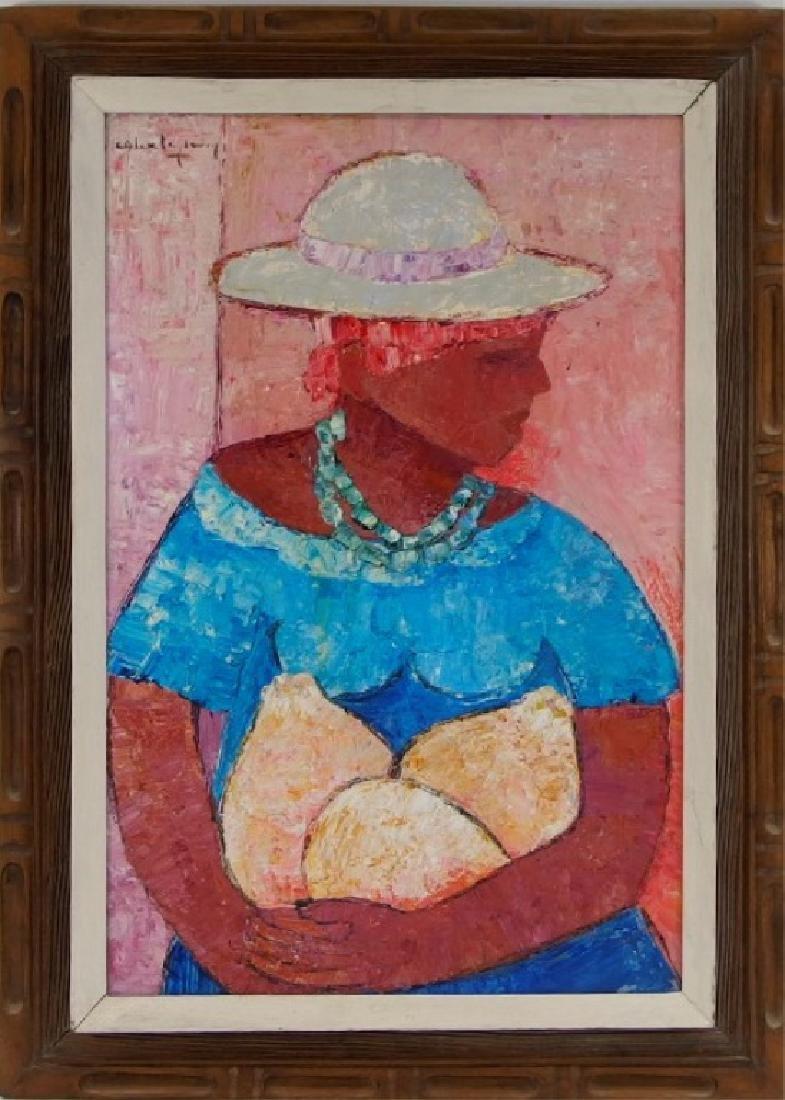 Calix Tequerra Impressionist Portrait Painting - 2