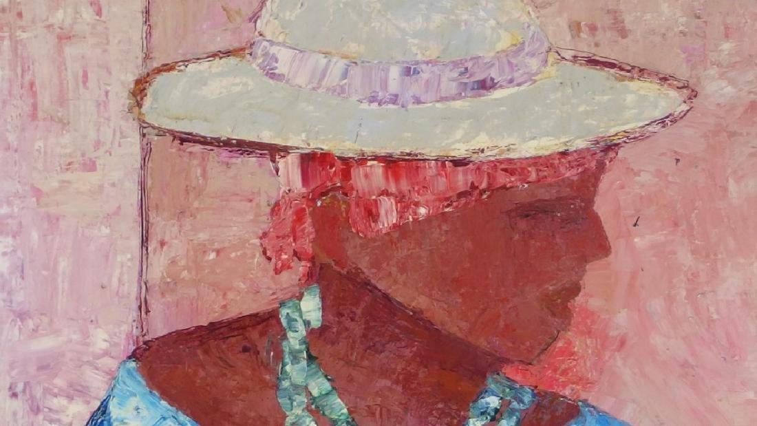 Calix Tequerra Impressionist Portrait Painting - 3