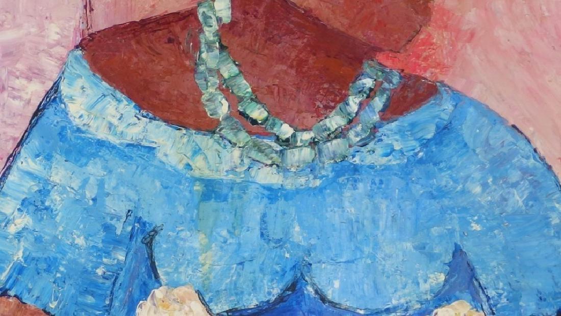 Calix Tequerra Impressionist Portrait Painting - 4