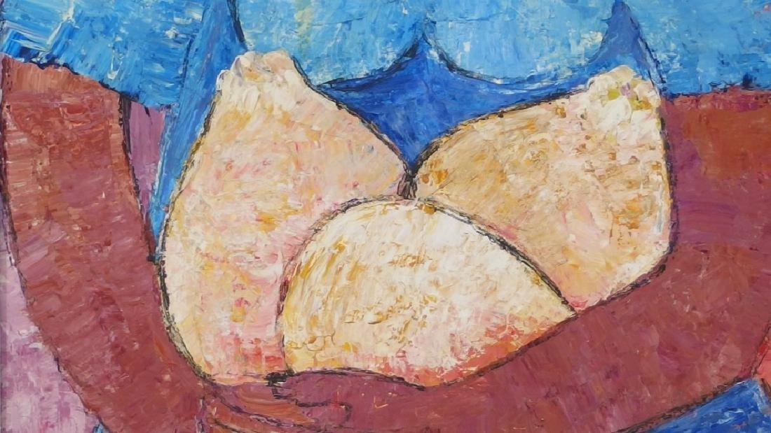 Calix Tequerra Impressionist Portrait Painting - 5