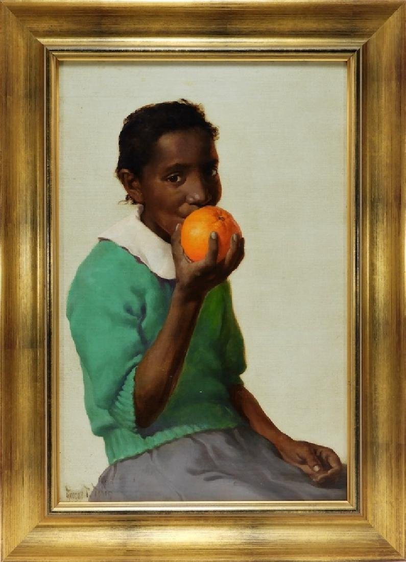 George Tobin Realist Portrait Painting of Phyllis