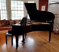 Yamaha Model G3 Black Lacquer Baby Grand Piano
