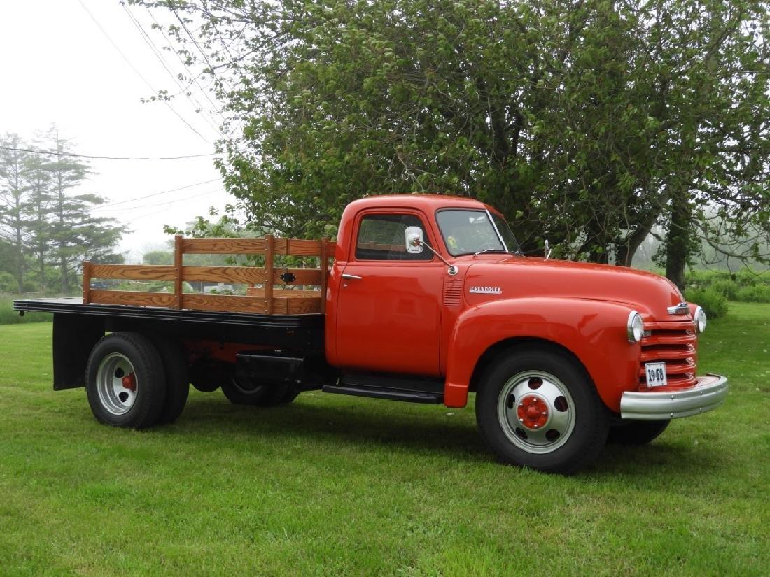 1948 Chevrolet 3600 Series Stake Body Truck