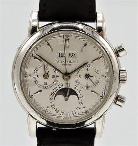 Patek Philippe Platinum Perpetual Chronograph