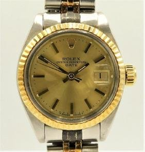 Rolex Lady's Oyster Perpetual Datejust Wristwatch