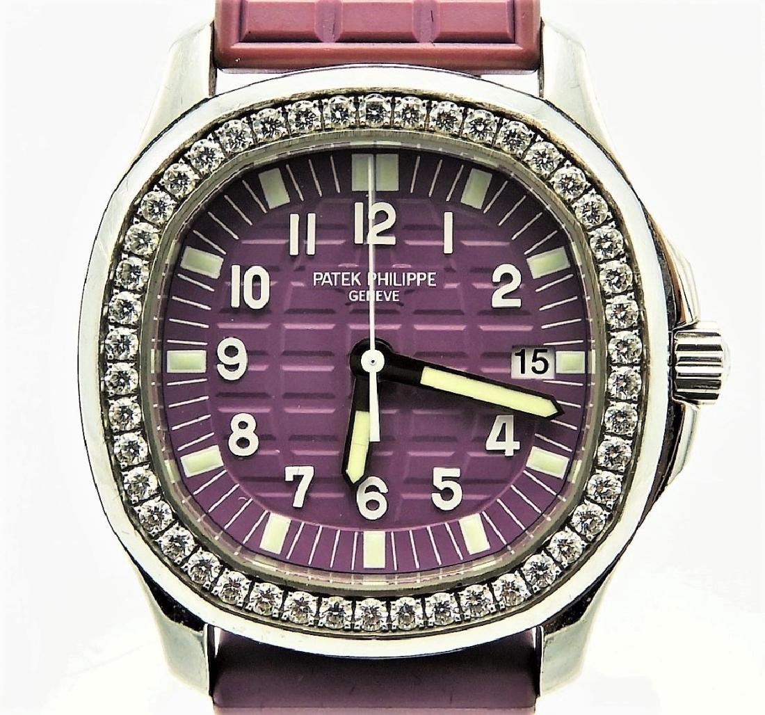 Patek Philippe Lady's Diamond Set Aquanaut Watch